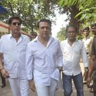Celebs At Ravi Chopra Funeral Ceremony