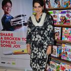 Rashmi Nigam And Perizaad Zorabian At Children Day Celebrations