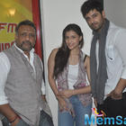 Anubhav,Mannara And Karanvir Promoted Zid At Radio Mirchi