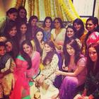 Shah Rukh Khan At Salman Khan Sister Arpita Mehendi Ceremony