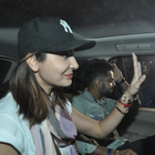 Anushka Sharma And Virat Kohli Snapped At The Domestic Airport