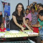 Aishwarya Rai Bachchan Meets Children From Smile Train Organisation