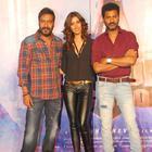 Ajay Devgan And Manasvi Mamgai Launch Film Action Jackson Song Gangster Baby