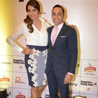 Bipasha Basu And Rahul Bose At Airtel Delhi Half Marathon 2014
