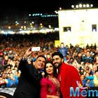 Farah,Abhishek  And Boman Attened HNY At The14th MIFF