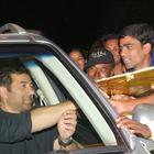 Sunny Deol Meet His Fans At Juhu In Mumbai