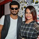 Arjun And Sonakshi Promote Film Tevar At 93.5 Red FM