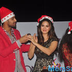 Sunny Leone And Tanuj Virwani Promote One Night Stand With Christmas