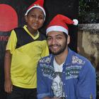 Ali Fazal Celebrates Christmas With NGO Kids