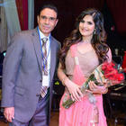 Zareen Khan At San Francisco Christmas Gala Event