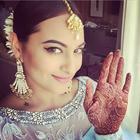 Sonakshi Sinha At Her Brother Mehendi Celebration