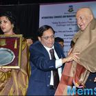 Prem Chopra And Rani Mukerji Felicitated By Mumbai University