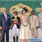 Kangana Ranaut At The McDowell Signature Indian Derby 2015