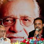 Gulzar Launches Ghalib And Gulzar A Painting Series