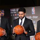 Abhishek Bachchan At NBA All Stars Press Meet