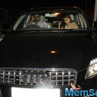 Alia Bhatt At Midnight In Her Audi Q7 Car In Juhu