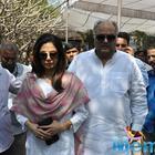 Sridevi And Boney Kapoor Pay Last Respects To Daggubati Ramanaidu
