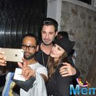 Sunny Leone And Her Husband Daniel Weber Snapped Outside Nido Restaurant