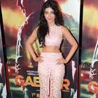 Akshay Kumar And Shruti Haasan At Film Gabbar Is Back Trailer Launch