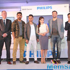 Celebs At The Launch Latest Range Of Philips TV