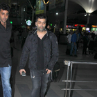 Saif Ali Khan And Karan Johar Snapped At Airport