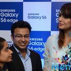 Huma Qureshi At Samsung Mobile Launch
