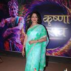 Hema Malini Spotted At Mathura Mahotsav