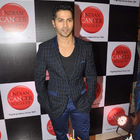 Varun Dhawan At Indian Cancer Society Event