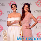 Katrina and Sonam With Loreal Paris Unveil Matte Or Gloss As The Beauty Trend For Cannes 2015