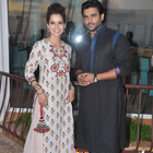 Kangana And Madhavan Promoting Tanu Weds Manu Returns Movie