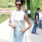 Deepika Padukone And Irrfan Khan In Delhi To Promote Piku