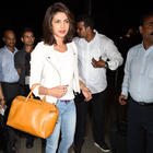Priyanka Chopra Departs For Quantico Launch In Newyork