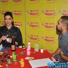 Deepika Padukone Promotes Piku At Radio Mirchi FM Studios