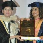 Vidya Balan Honoured As Doctor Of Arts Honoris Causa By Rai University