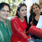 Vidya Balan On The Sets Of TV Serial Ye Hai Mohabbatein