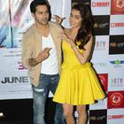 Varun Dhawan And Shraddha Kapoor Promoted ABCD 2 In Gurgaon
