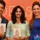 Tusshar Kapoor And Tamannaah Bhatia Launch Book Body Goddess