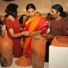 Vidya Balan At The Madhya Pradesh Tourism And Handicrafts Exhibition