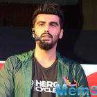 Arjun Kapoor Promotes Hero Cycles