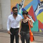Mandira Bedi And Sunil Shetty Road Safety Campaign Launch