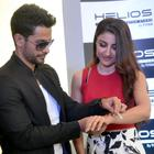 Soha And Kunal At Helios Watch Press Meet In Bangalore
