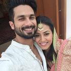 Newly Married Couple Shahid Kapoor And Mira Rajput Photo Shoot For Media