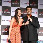 Alia Bhatt And Karan Johar Launch Colors Infinity Channel