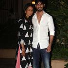 Just Married Couple Shahid Kapoor And Mira Rajput Pose To Camera At Their Home