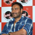 Drishyam Hindi Movie Promotion At Fever 104 FM In Mumbai