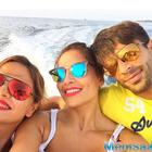 Karan And Bipasha Holiday In Maldives With Deanne Panday