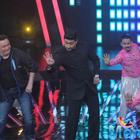 Rishi And Abhi At Indian Idol Junior Season 2 For All Is Well Promotion