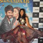 Shahid Kapoor And Alia Bhatt At Shaandaar Movie Trailer Launch