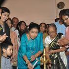 Asha Bhosle At Paramesh Paul Art Show