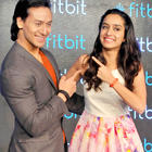 Tiger Shroff And Shraddha Kapoor In Delhi For Fitbit Launch